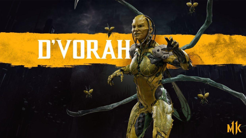 Ди'Вора комбо Mortal Kombat 11