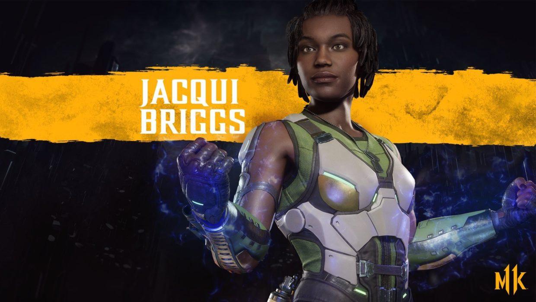 Джэки Бриггс комбо Mortal Kombat 11