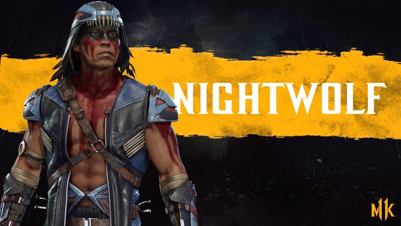 Ночной Волк комбо Mortal Kombat 11