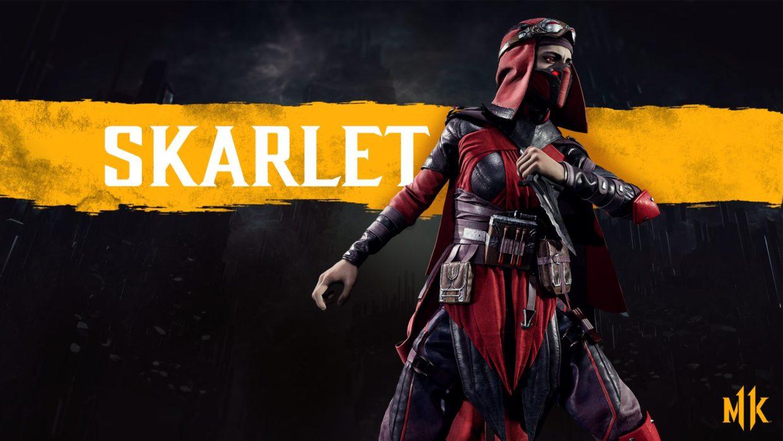 Скарлет комбо Mortal Kombat 11